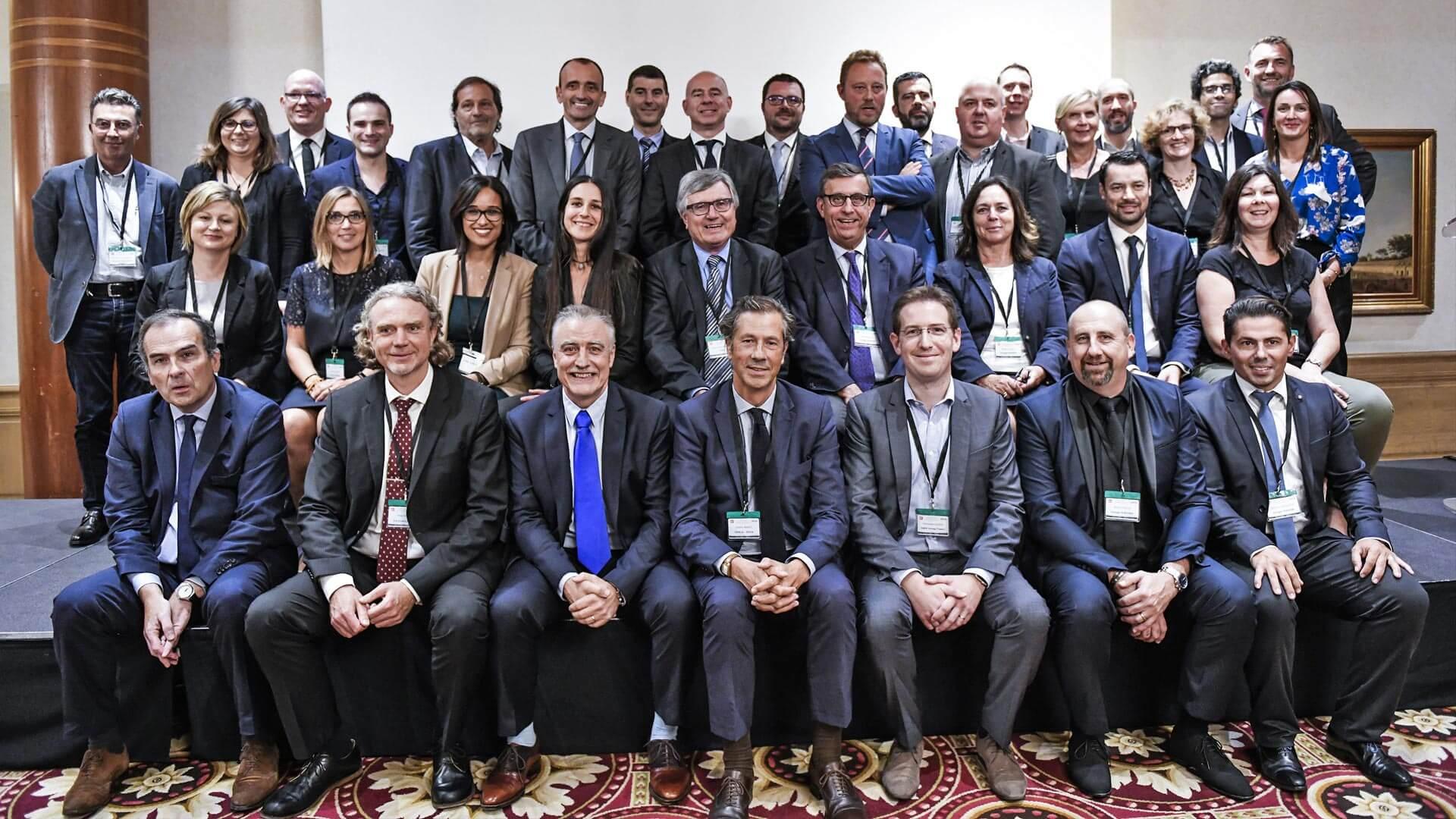 Les Trophées de l'Environnement édition 2018 photo de groupe