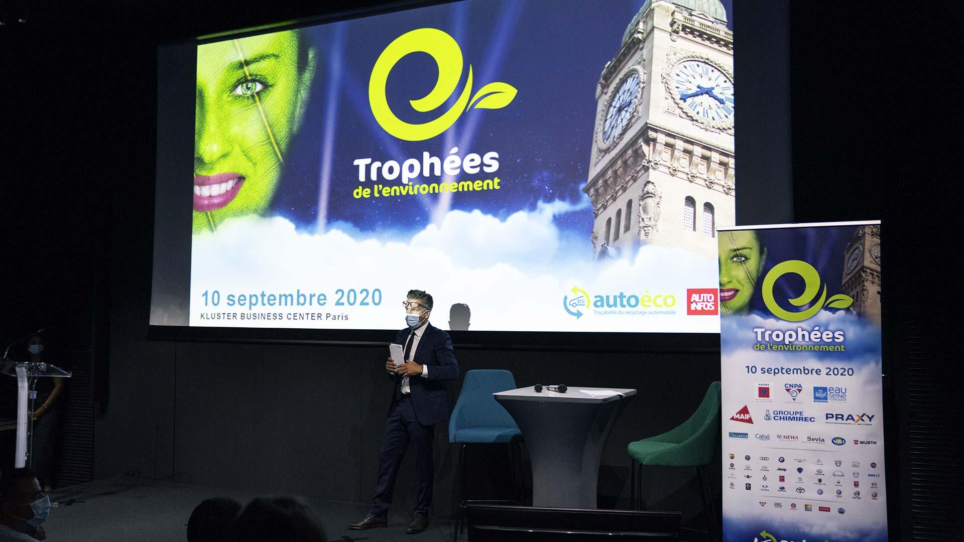 Les Trophées de l'Environnement édition 2020 soirée présentation