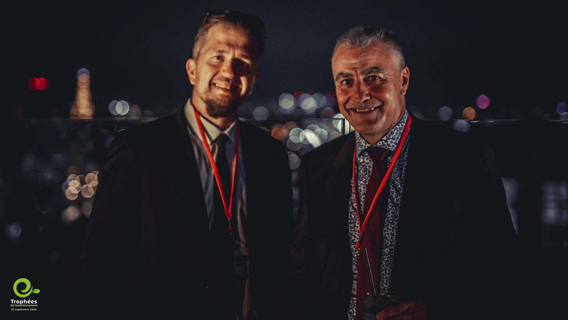Les Trophées de l'Environnement édition 2020 soirée gestes barrières