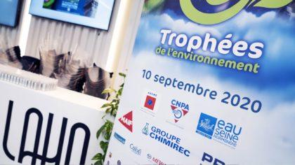Les Trophées de l'Environnement édition 2020 Totem Trophées Environnement