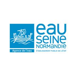 Les Trophées de l'Environnement Logo Partenaire Eau Seine Normandie petit format